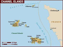channe Islands  karte